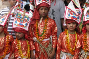 Gai-Jatra: the cow festival