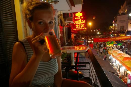 Beers in Hanoi