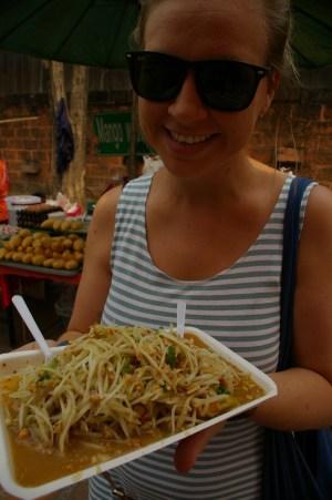 best food in asia - som tam