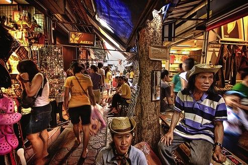 chatuchak market Top Bangkok Shopping Spots