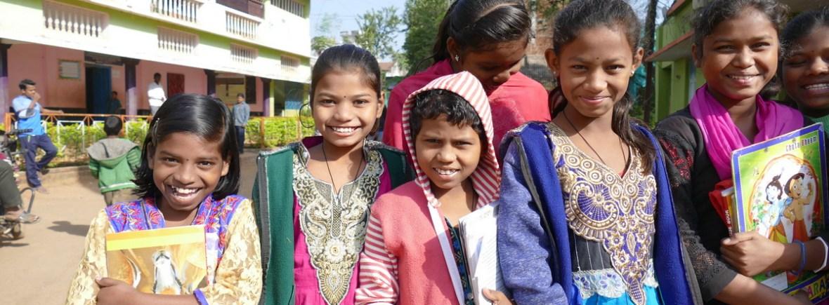 Waisenkinder im Banabasi Kinderhaus