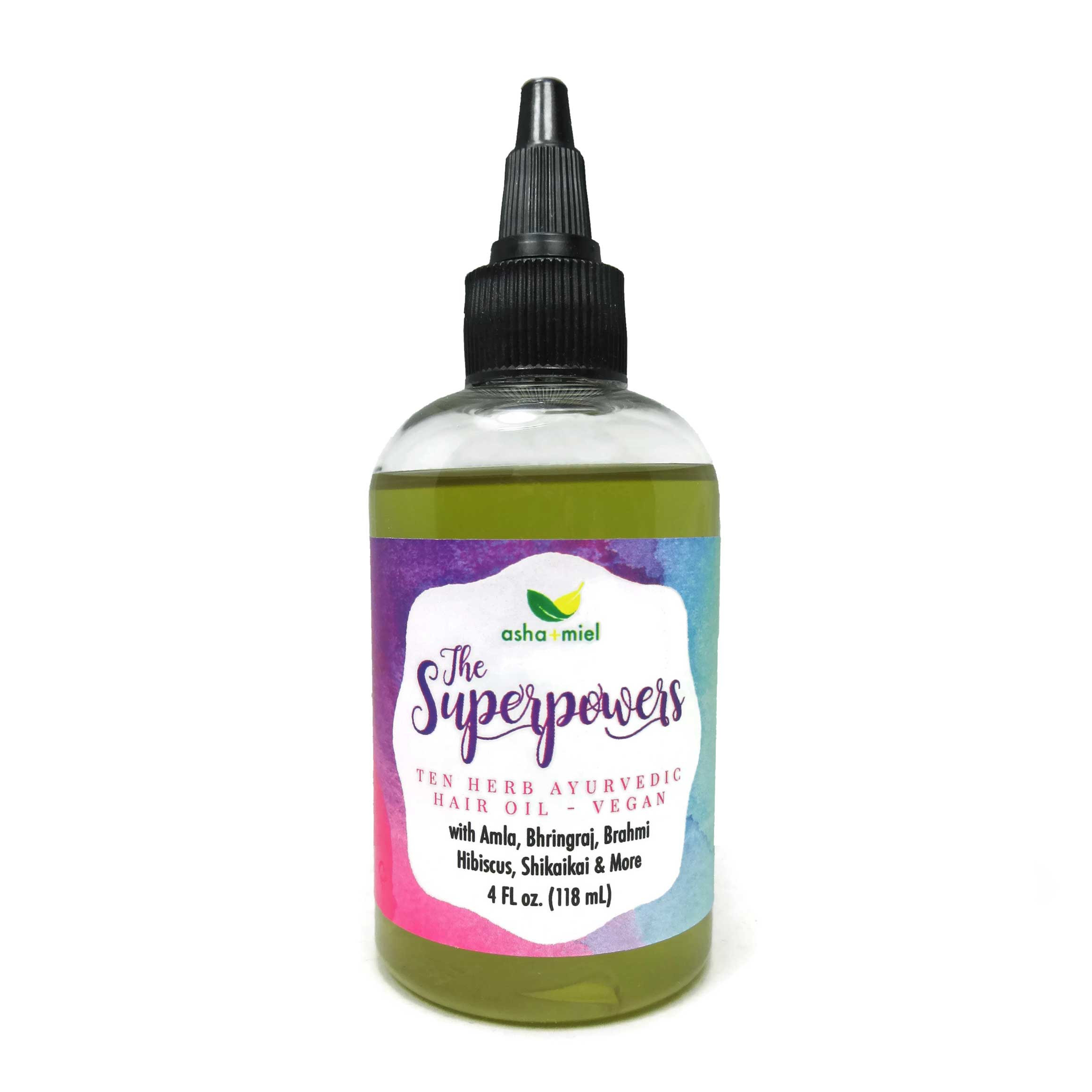VEGAN The Superpowers Ayurvedic Hair Growth Oil Growth
