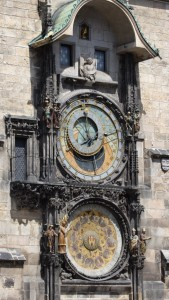 An old astronomical clock!
