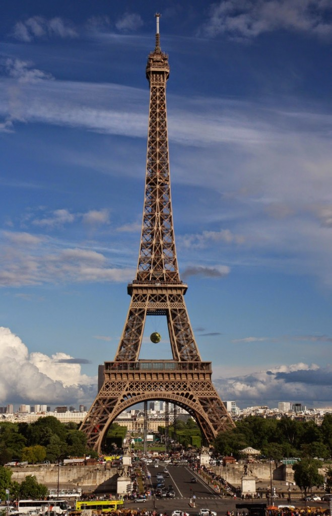 The most famous tower in the world on a beautiful evening!