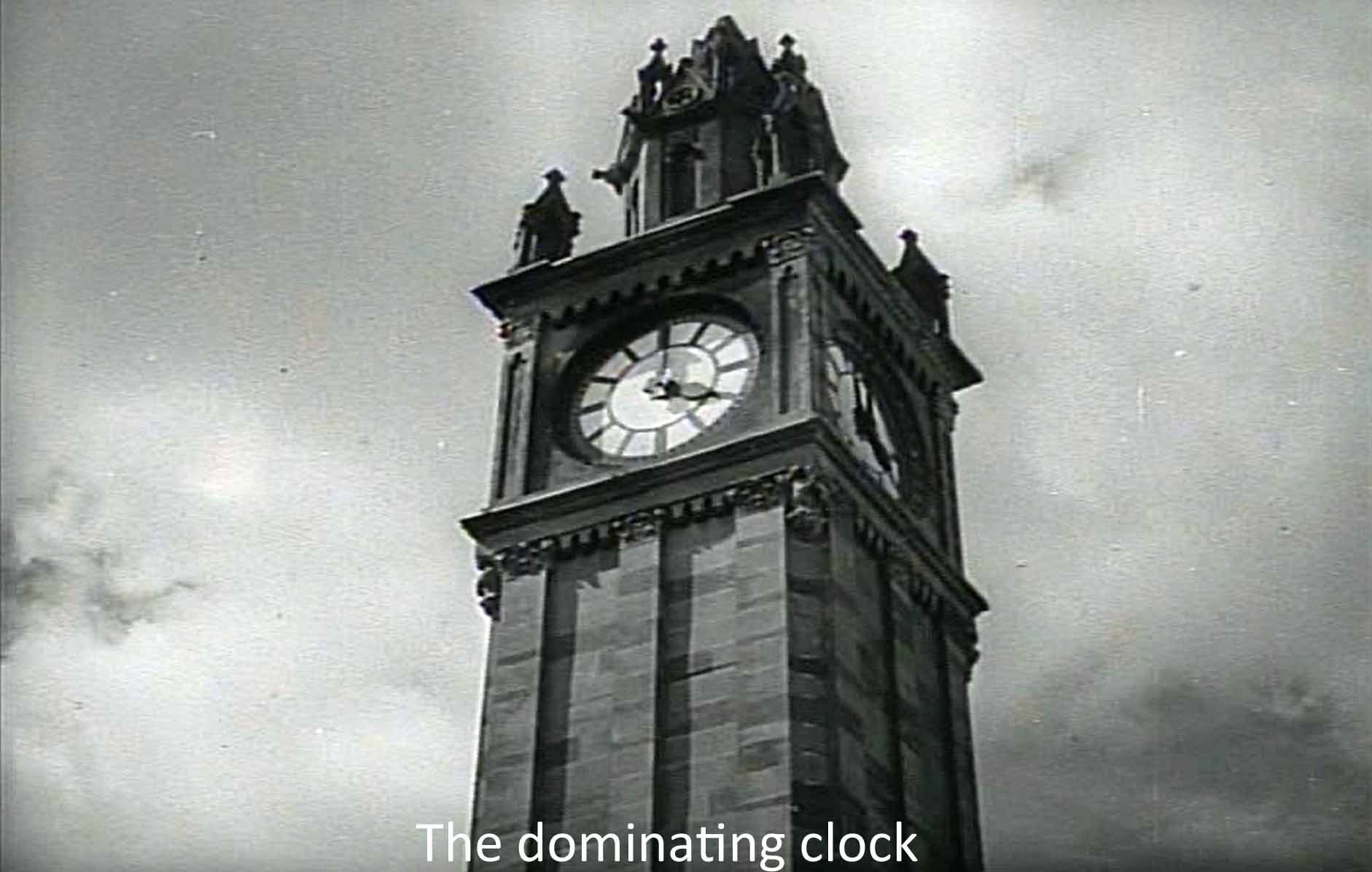 The dominating clock