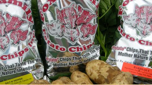 fox family potato chips