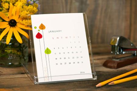 7 Beautiful Monthly Desk Calendars A Sharp Eye