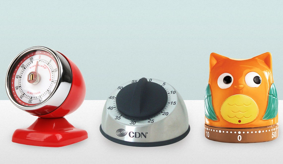 Fun kitchen timers