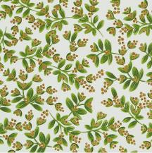 festive mistletoe wrapping paper
