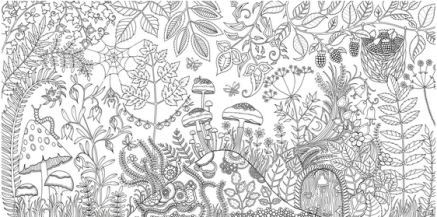 Grown-up-coloring-books fromJohanna-Basford