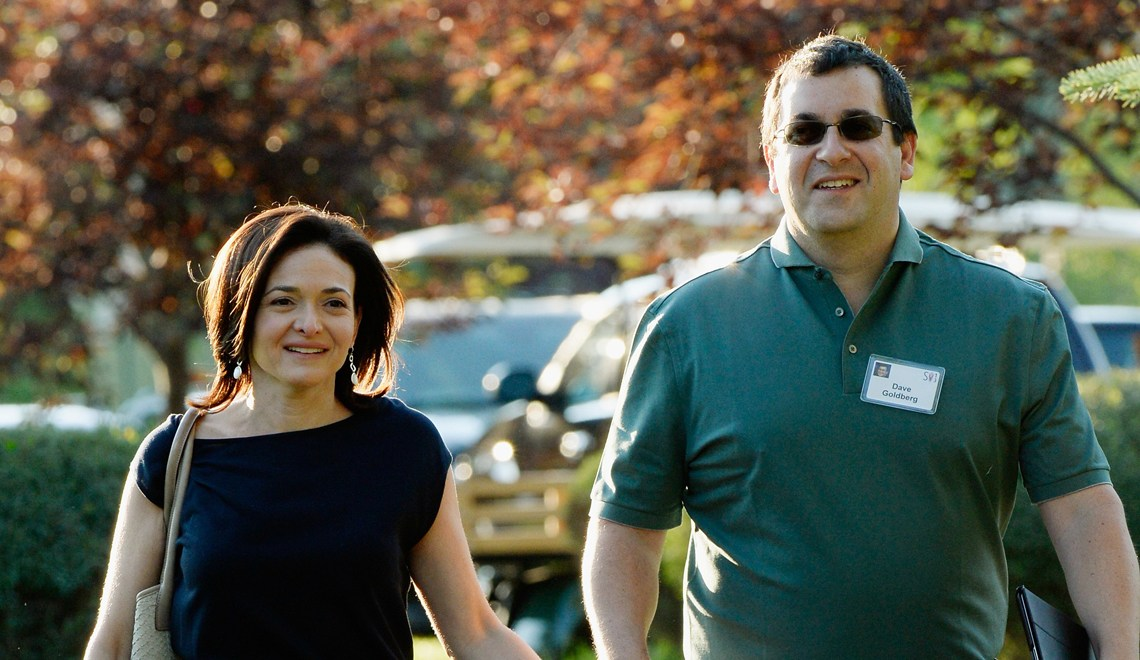 Sheryl Sandberg's tribute to her late husband