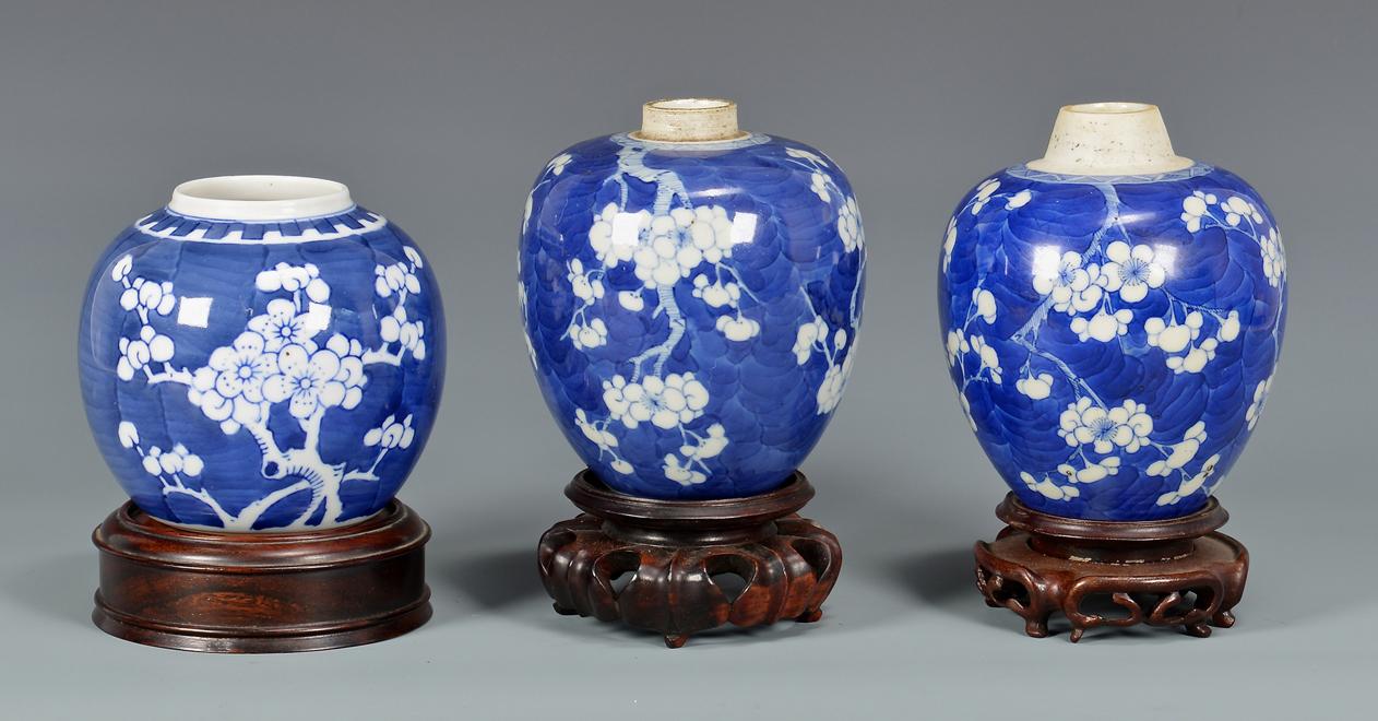 blue and white ginger jars - Ginger Jars