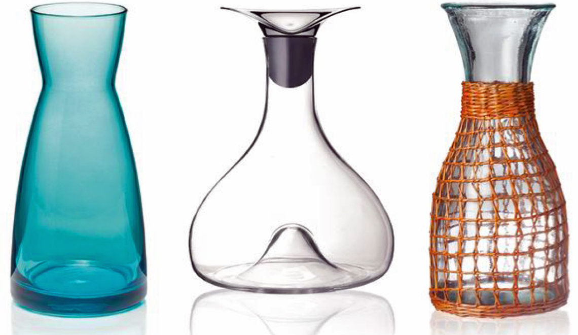 beautiful carafes
