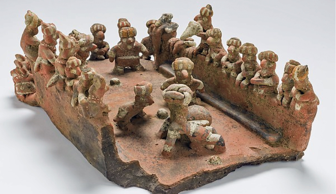architectural models from the ancient americas