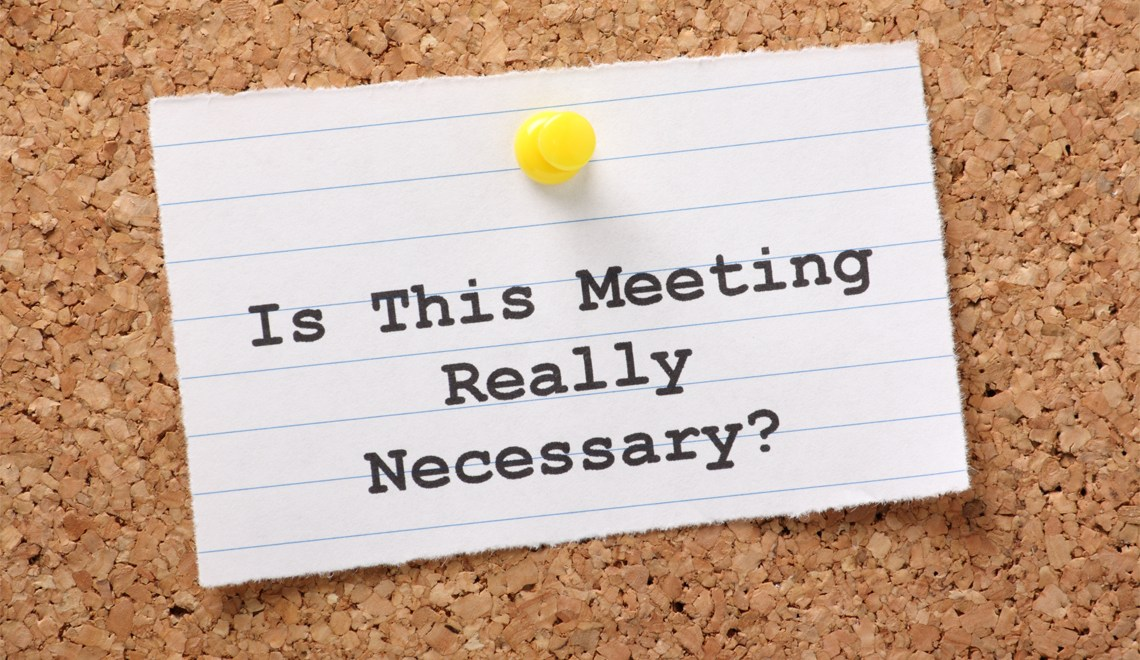 run a great meeting