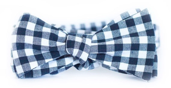 Mens-Holiday-Gifts-2015-navy-gingham-bow-tie
