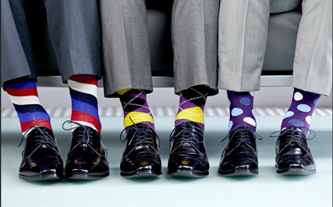 fabulous and colorful men's socks