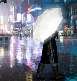 A better life with reflective umbrellas
