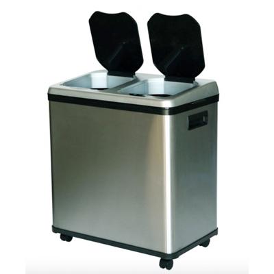 Hi Tech Garbage-Bins---Dual-Compartment-Bin