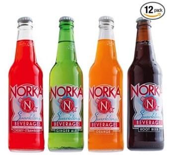 Snacks for Summer - Norka sparkling drinks