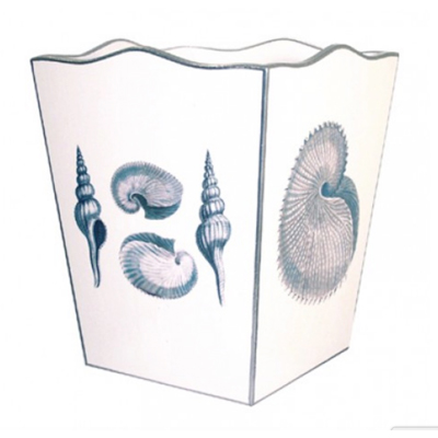 wastebaskets-blue-shells-well-appointed-house