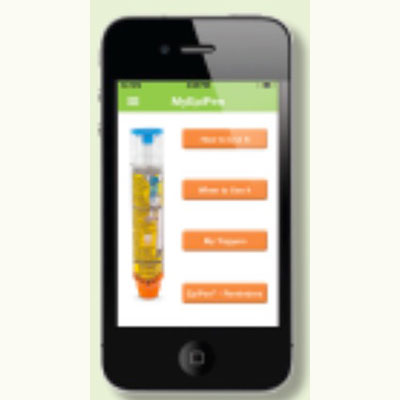 Epi pen allergy app