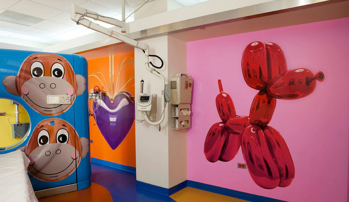 RxArt – Transforming Pediatric Hospitals Into Beautiful, Inspiring, Environments