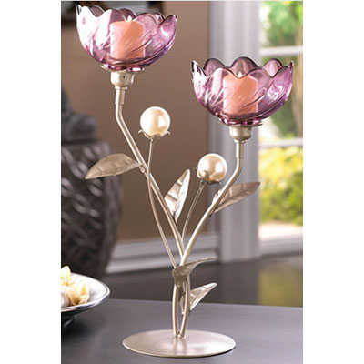 flower candlestick holder for summer