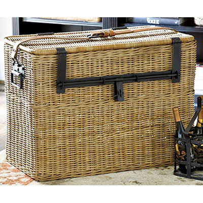 hand woven multipurpose storage trunk