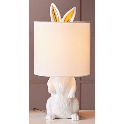 rabbit animal table lamp
