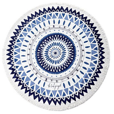 oversized round beach towel