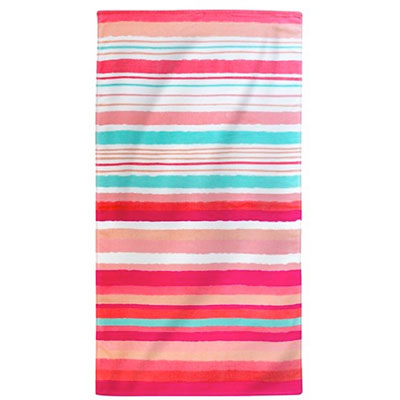 Cotton striped beach towel Target