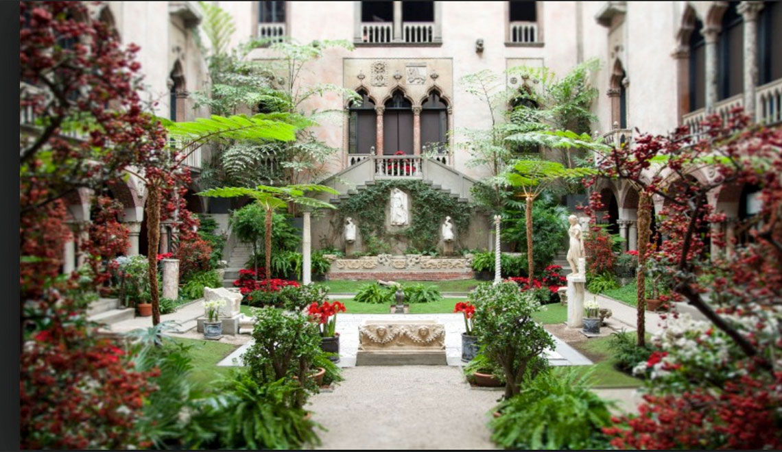 Isabella Stewart Gardner Museum in Boston, Massachusetts:   Missing Links in a Magnificent Legacy