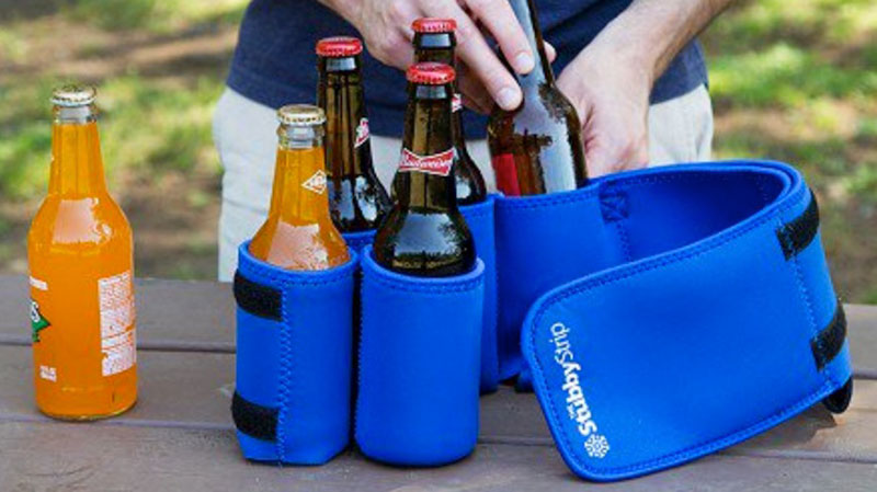 insulated beverage holder entertaining
