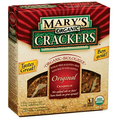 Marys Organic Crackers convenient snacks