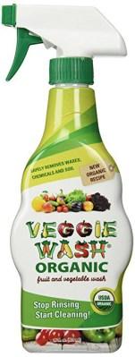 Organic Veggie Wash strawberries