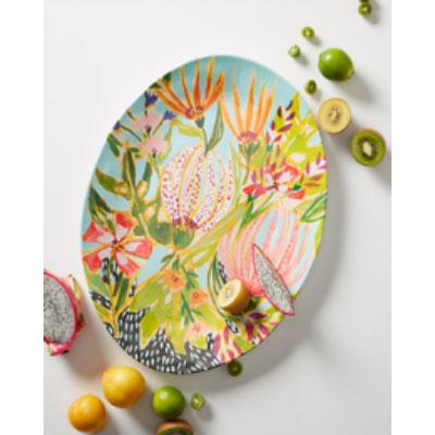 Lulie Wallace unbreakable melamine platter
