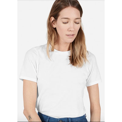 Everlane's white t-shirt