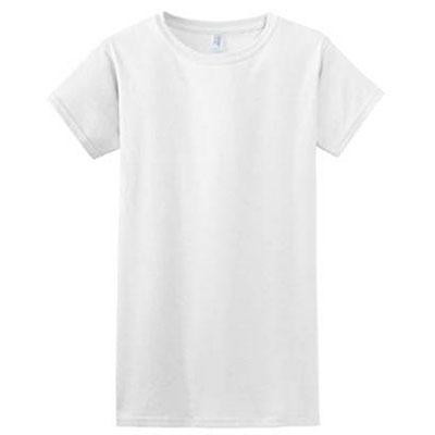Gilden's Soft White T-Shirt