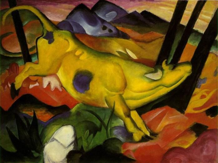 Guggenheim's Yellow Cow, Franz Marc