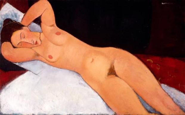 Guggenheim's The Nude, Amedeo Modigliani