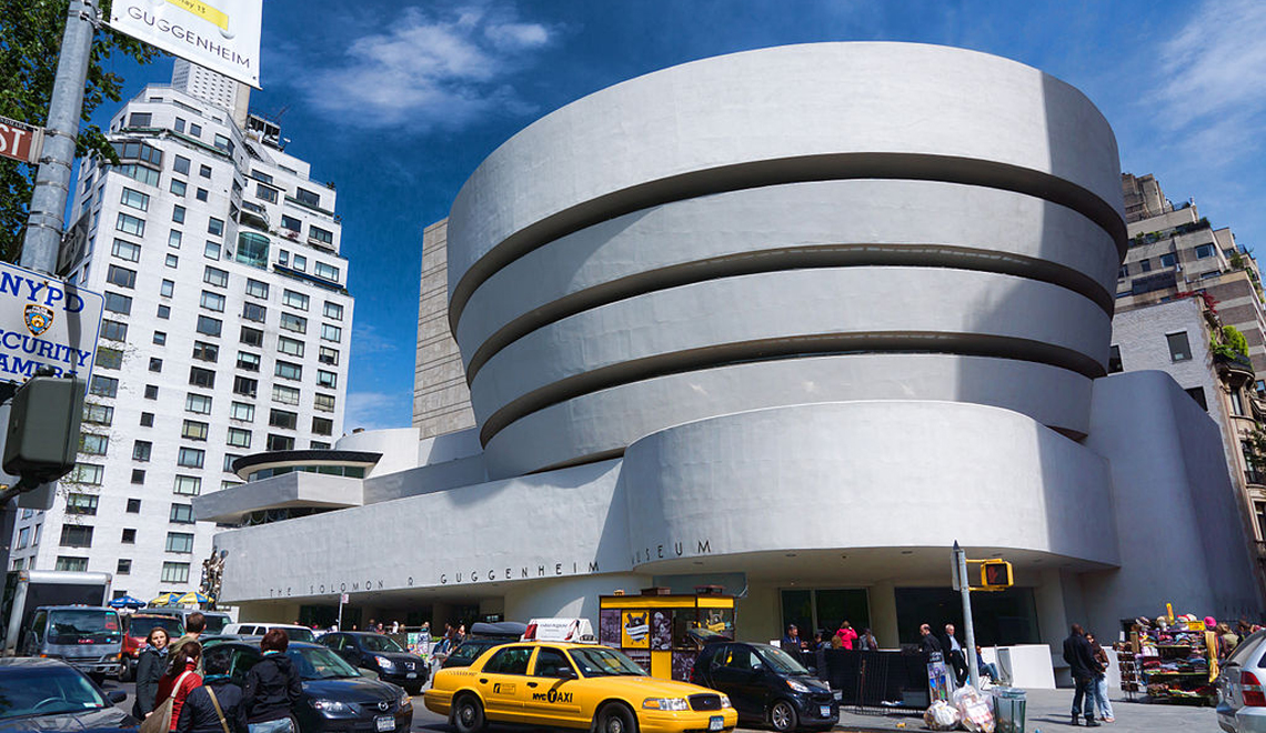 The Guggenheim Museum: A Work of Art in the Round
