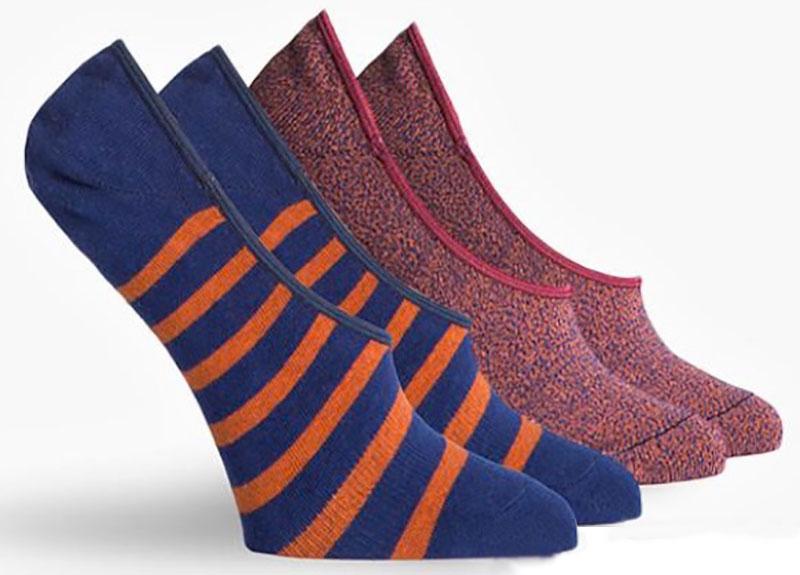 Richer Poorer no-show socks