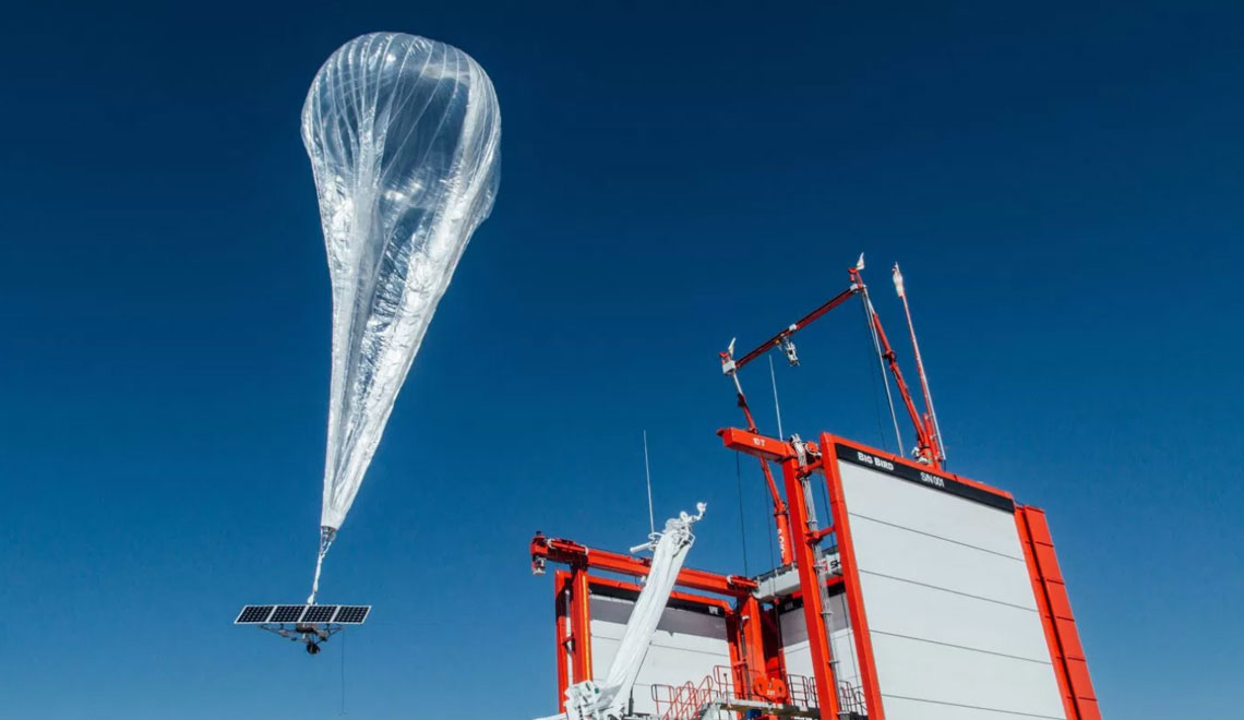 Project Loon – Alphabet Floats a Temporary Cell Phone Network Above Puerto Rico