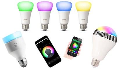 smart light bulbs