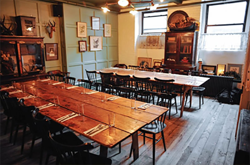 Restaurants In NYC In Unusual Places Sharp Eye - Table reservations nyc