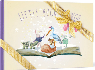 personalized baby gifts, little book of you
