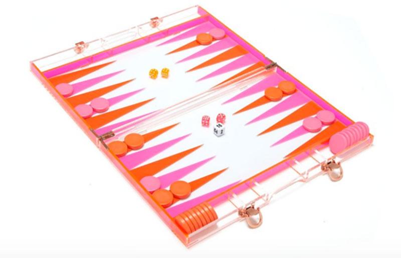 summer fun backgammon