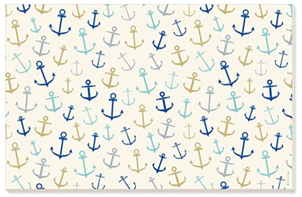 paper placemats, anchors away