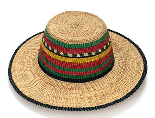 JUstine straw brimmed sun hat